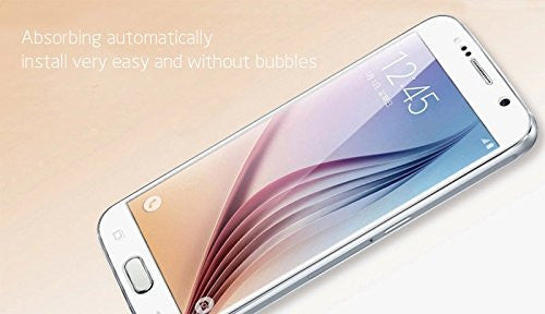 Premium Quality Tempered Glass for Samsung Galaxy S6 (Pack of 2)
