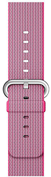 SELLERS360 Pink Woven Nylon Band for Apple Watch Series 1/2/3
