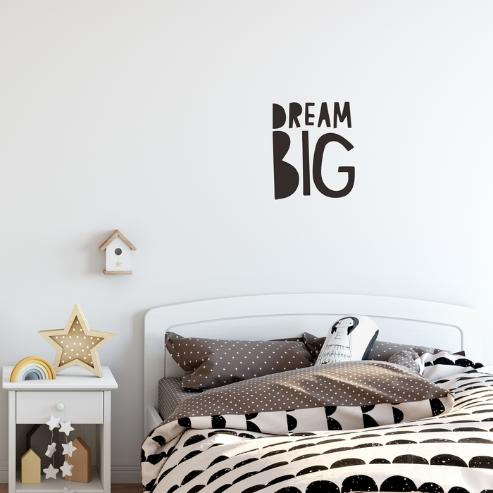 'Dream Big' Wall Decal
