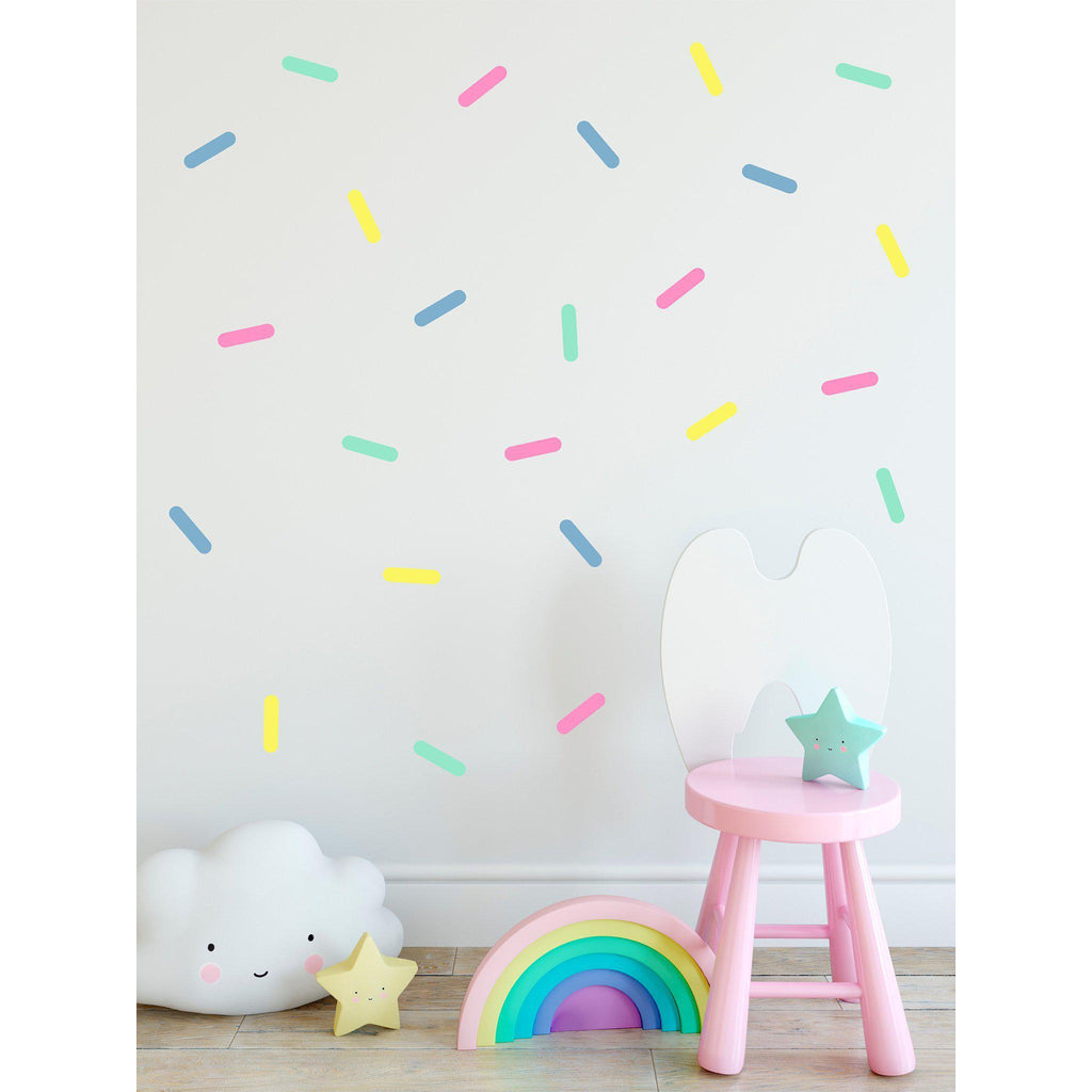 Pastel Sprinkles Wall Decal