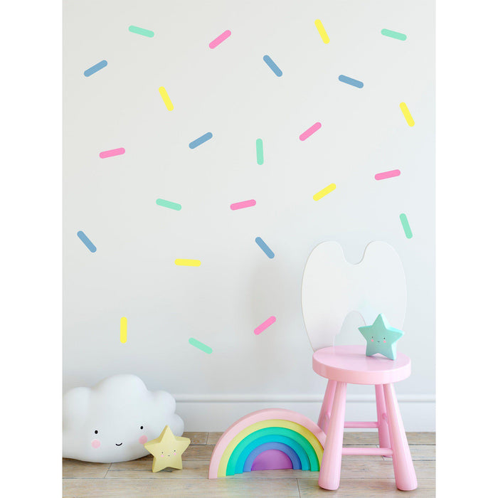 Colourful Sprinkles Wall Decal - Urban Li'l