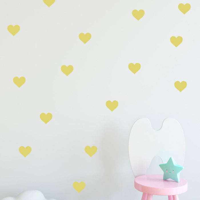 Hearts Wall Decal - Urban Li'l