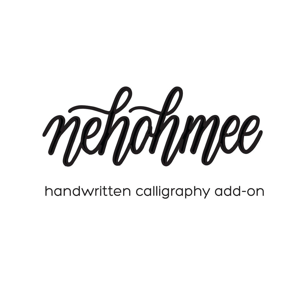 Nehohmee Calligraphy Add-on