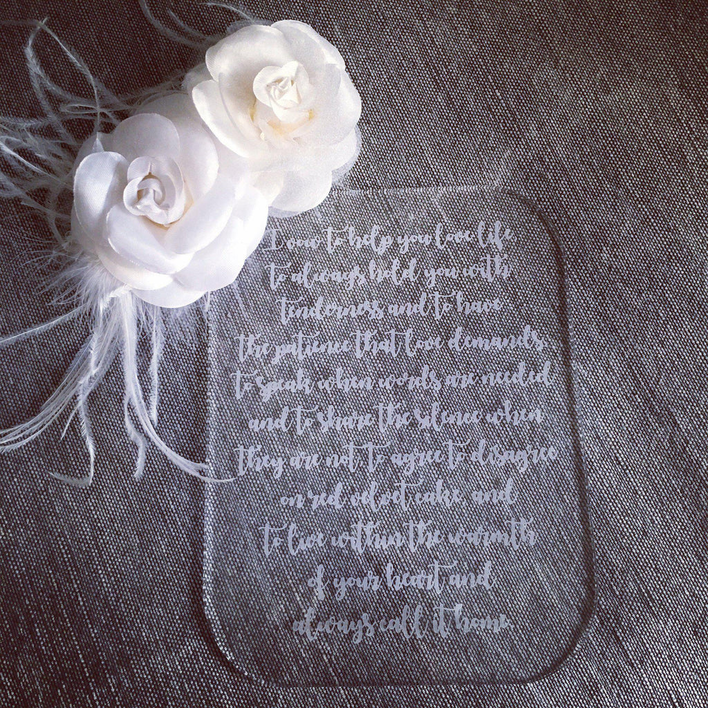 Wedding Vows Plaque Set