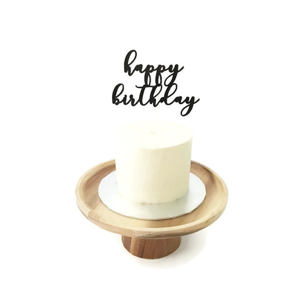 'Happy Birthday' Floating Board Cake Topper 4.5""