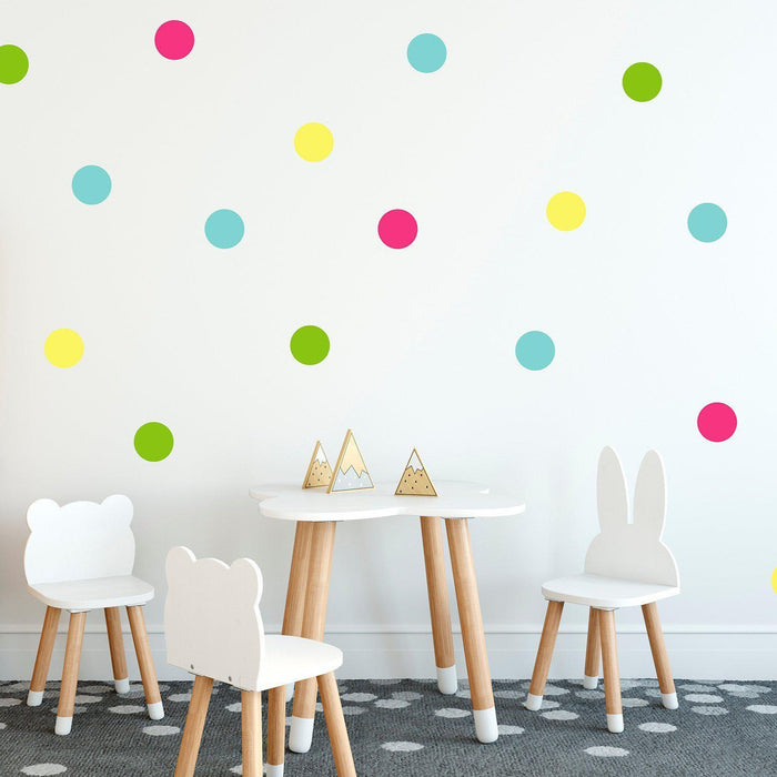Polka Dot Confetti Wall Decal