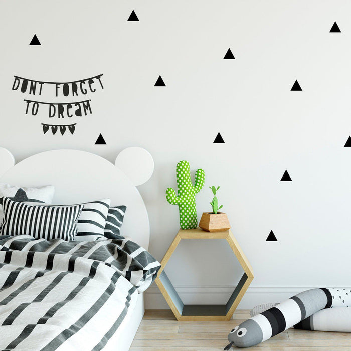 Triangle Wall Decals - Urban Li'l