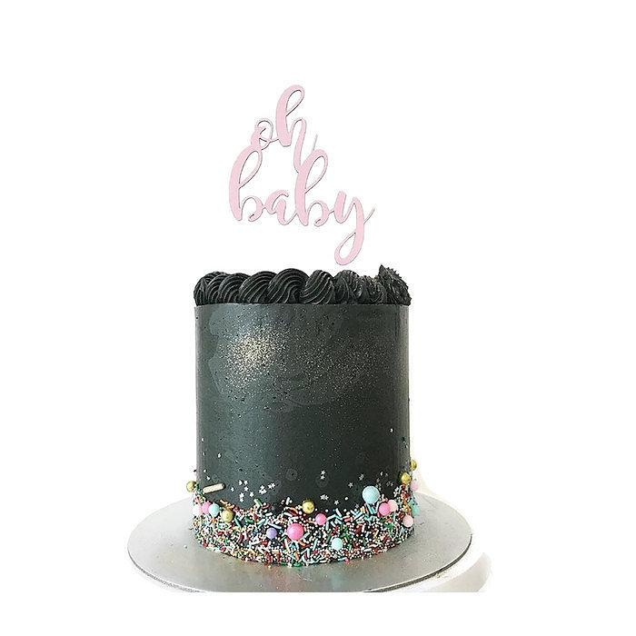 'Oh Baby' Floating Board Cake Topper