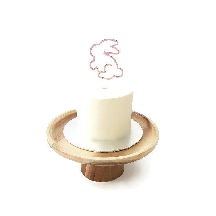 Bunny Floating Board Cake Topper