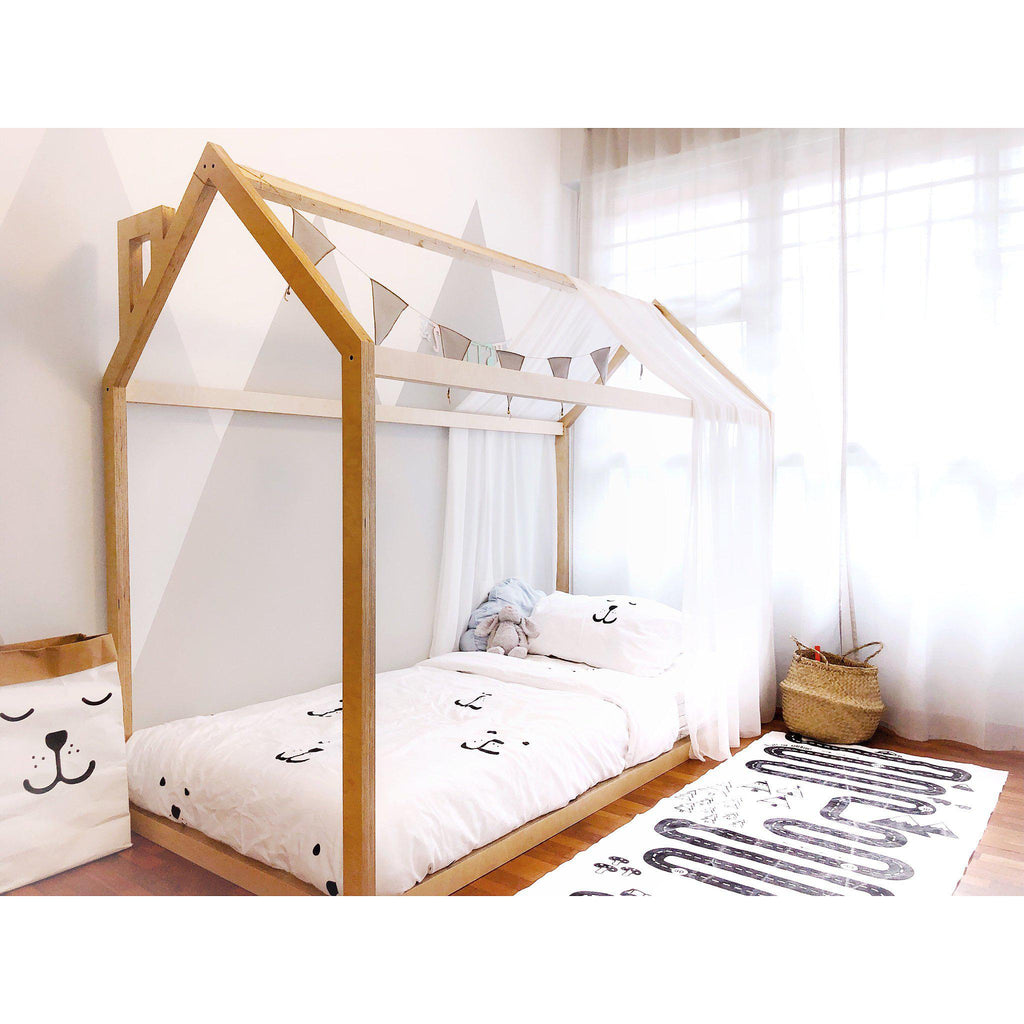 Scandinavian House Bed
