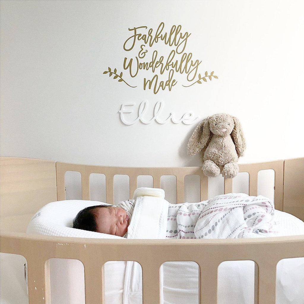 'Fearfully & Wonderfully Made' Wall Decal