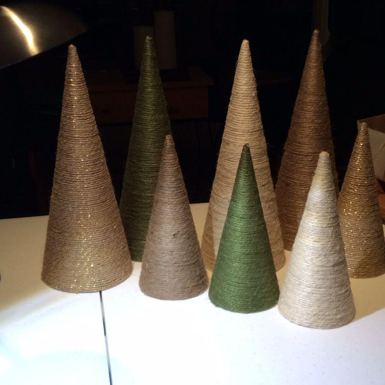 Workshop: Twine Christmas Tree Cone -40mins