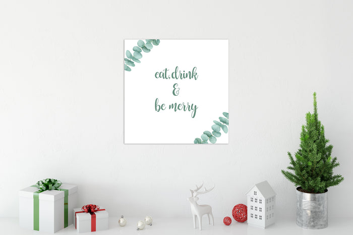 Be Merry Christmas Canvas