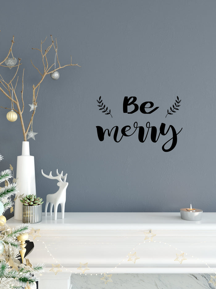 Be Merry Wall Decal