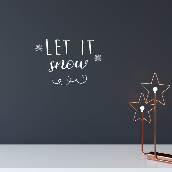 Let It Snow Wall Decal - Urban Li'l