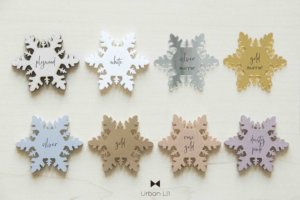 Personalised Christmas Snowflake Ornament