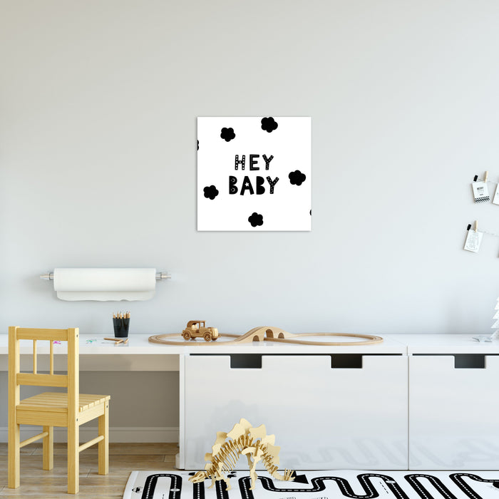 Hey Baby Canvas - Urban Li'l