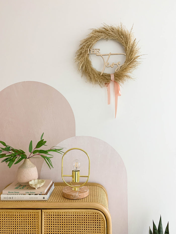 Classic Pampas Wreath