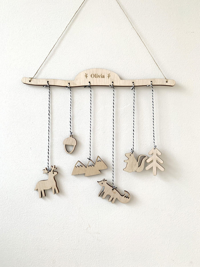 Mobile Hanger Craft Kit - Woodlands