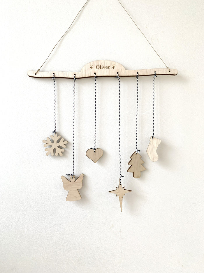 Mobile Hanger Craft Kit - Christmas