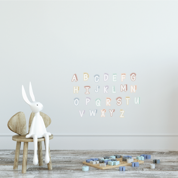 A to Z Gratitude Fabric Decal by Our Little Playnest x Urban Li'l