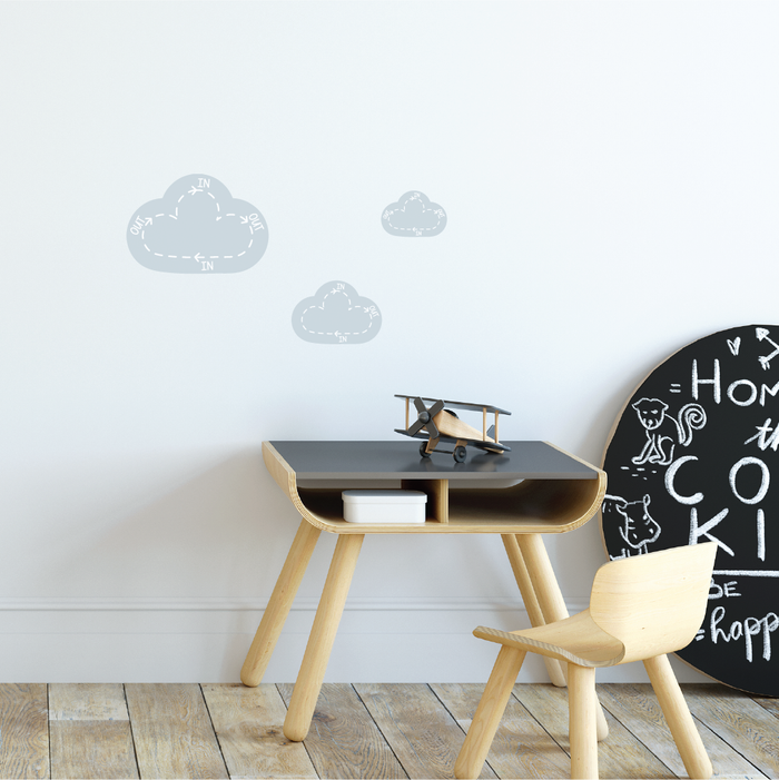 Clouds Breathing Fabric Decal by Our Little Playnest x Urban Li'l