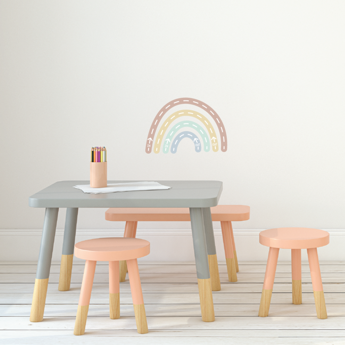 Rainbow Breathing Fabric Decal by Our Little Playnest x Urban Li'l
