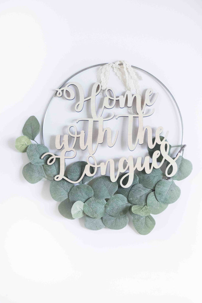 Eucalyptus Silver Ring Wreath