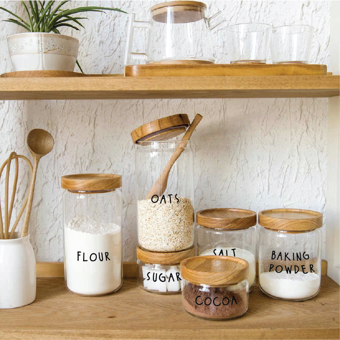 Pantry Label Sets - Urban Li'l