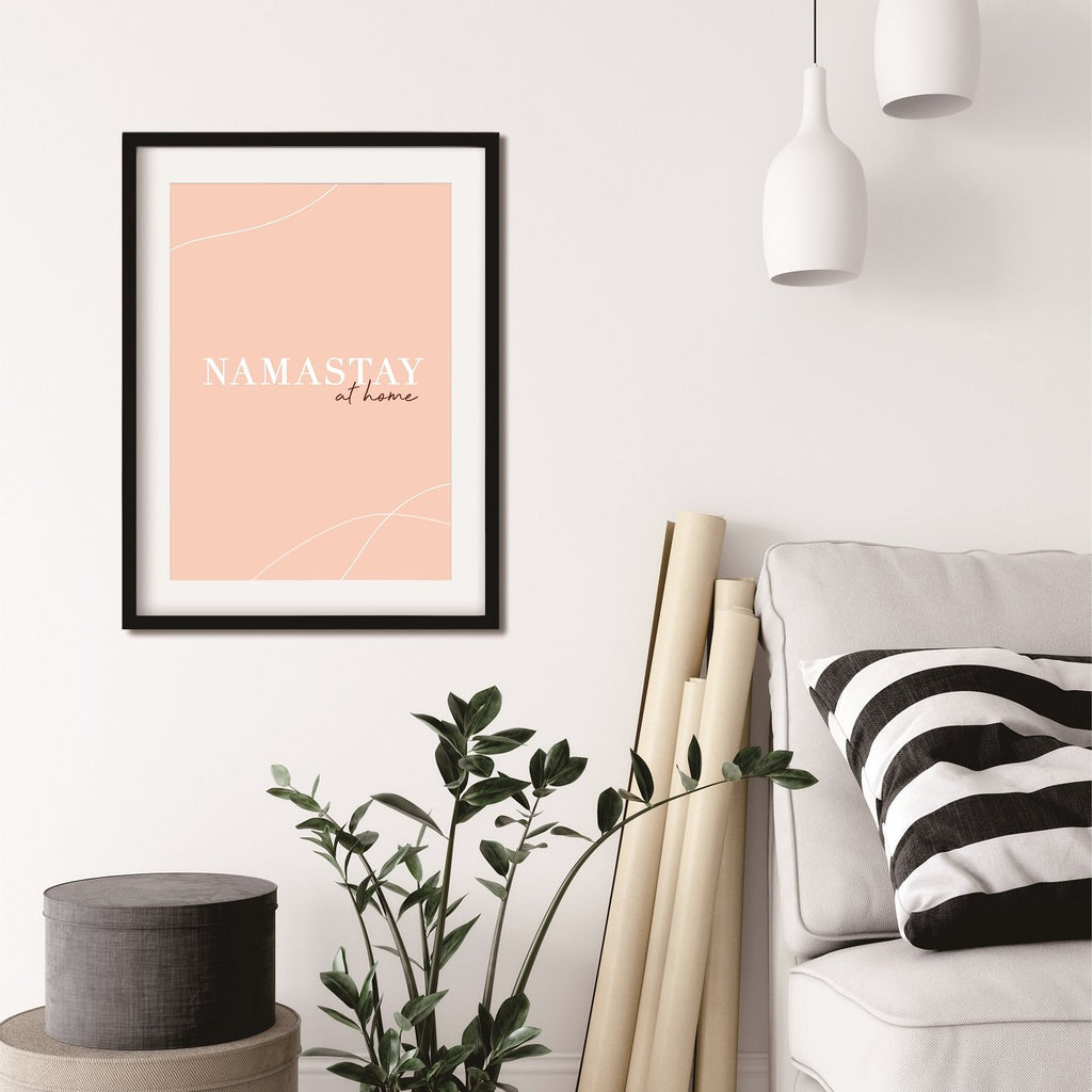 Namastay At Home Poster