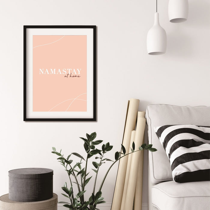 Namastay At Home Poster - Urban Li'l