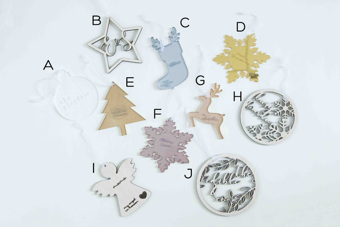 Christmas Tree Ornaments Set