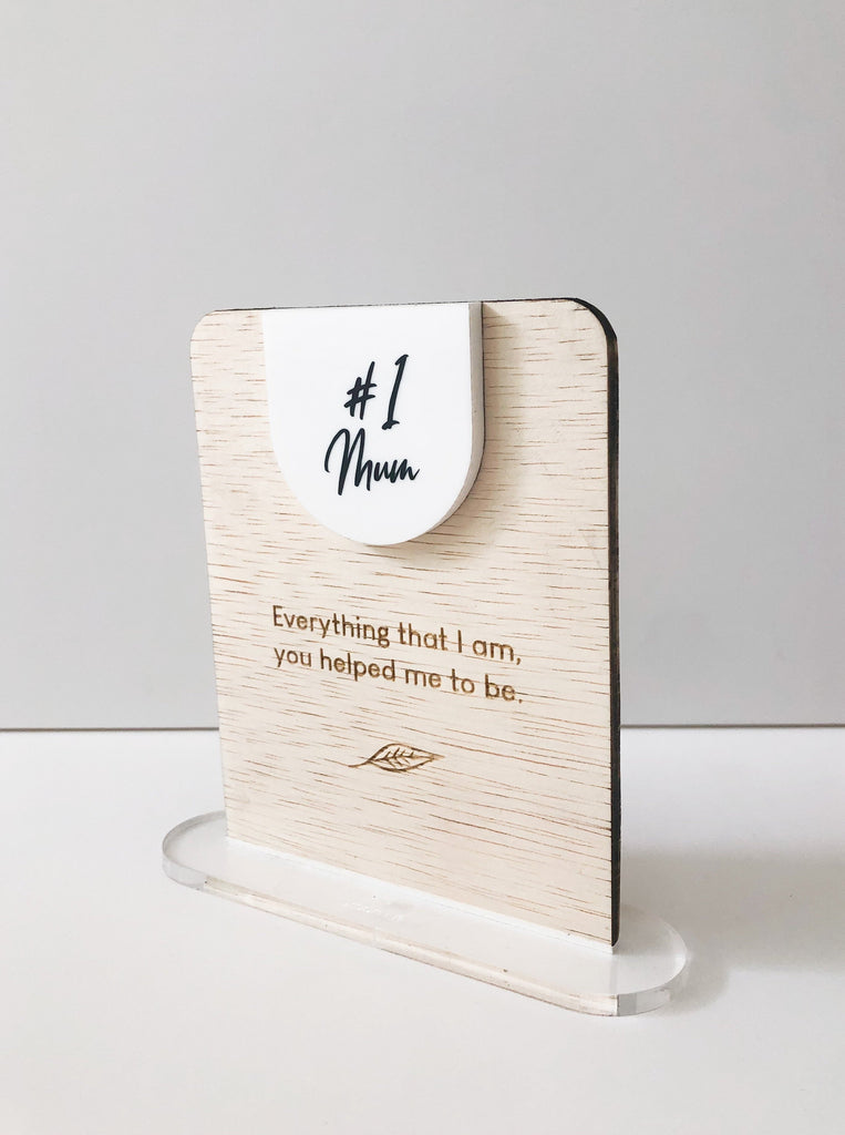 Mother's Day Standing Note - Rectangle
