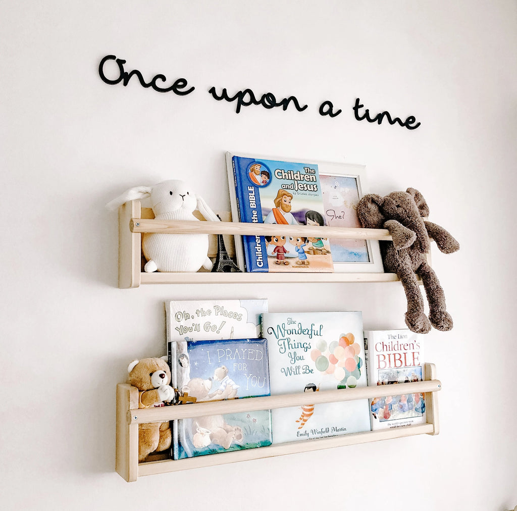 'Once upon a time' Nursery Signage