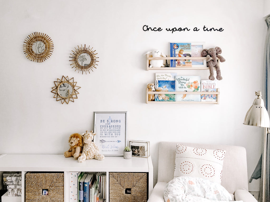 'Once upon a time' Nursery Signage - Urban Li'l