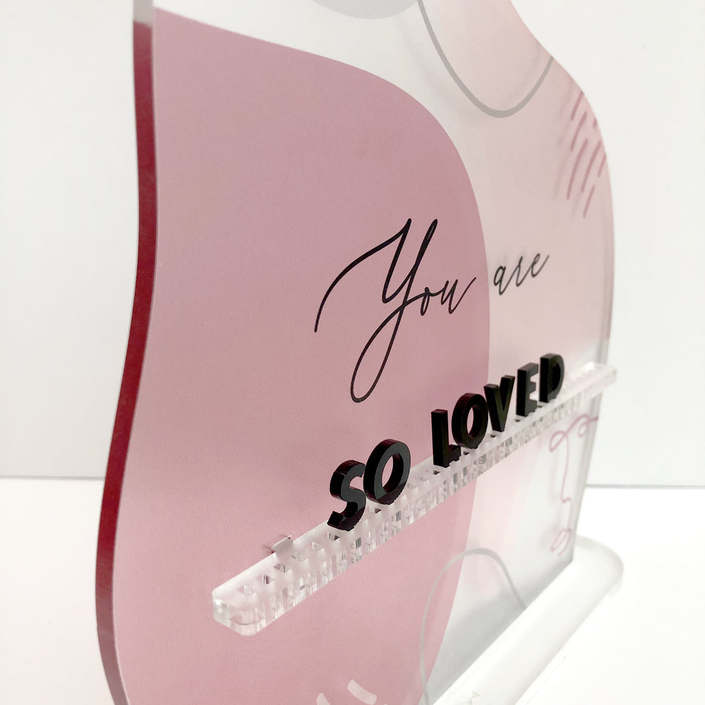 Self-Love Letter Board Standee - Urban Li'l