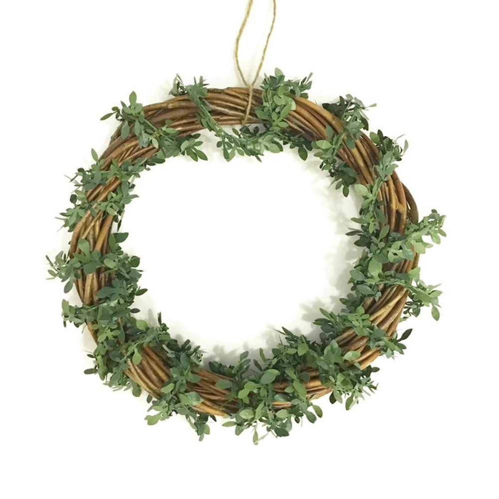 Vintage Wreath Plaque