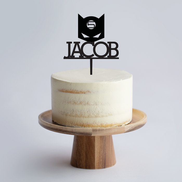 cake topper plywood acrylic laser cut Singapore