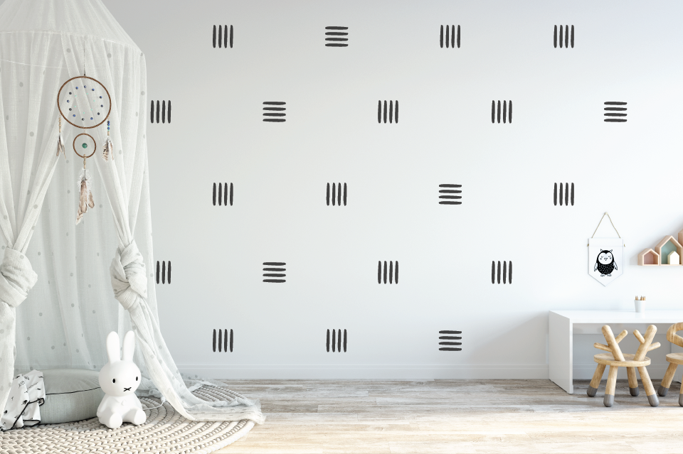 Lines Wall Decal