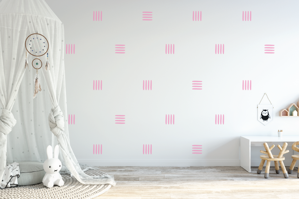 Lines Wall Decal - Urban Li'l