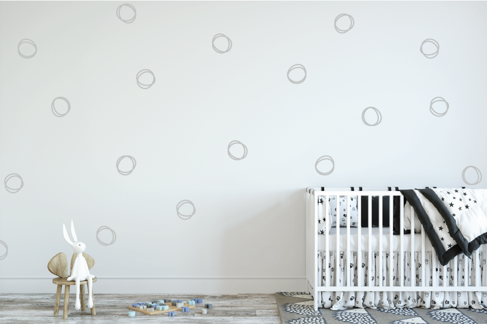 Rings Wall Decal - Urban Li'l