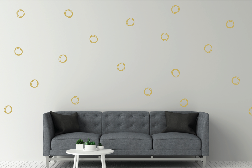 Rings Wall Decal