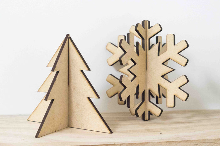Snowy Christmas Craft Kit