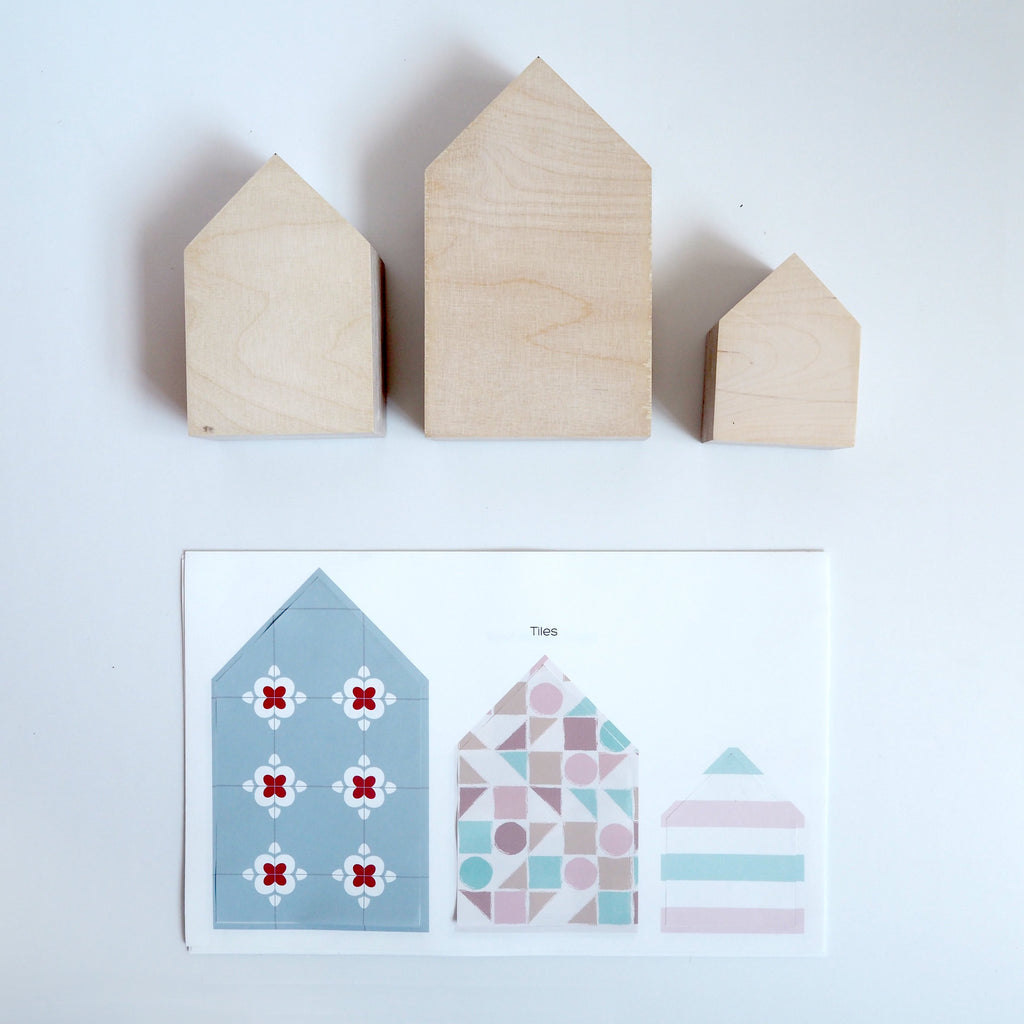 Scandi House Fabric Decal by Styledbypt x Urban Li'l