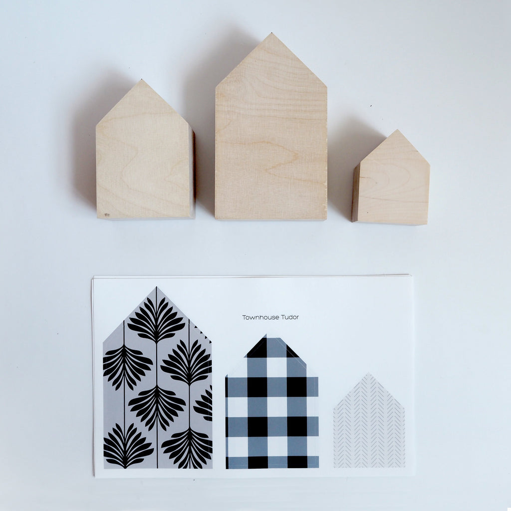 Scandi House Fabric Decal by Styledbypt x Urban Li'l - Urban Li'l