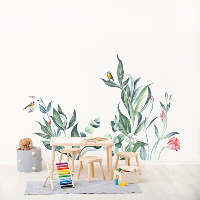 Summertime Fleur Fabric Decal by Urban Li'l x STYLEDBYPT