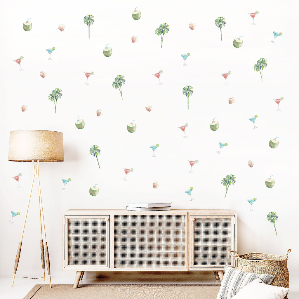 Summertime Lounge Fabric Decal by Styledbypt x Urban Li'l