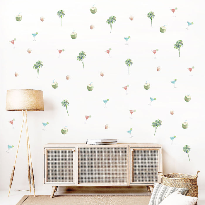 Summertime Lounge Fabric Decal by Urban Li'l x STYLEDBYPT