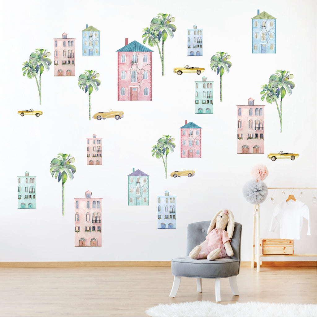 Summer Hollywood Fabric Decal by Urban Li'l x STYLEDBYPT
