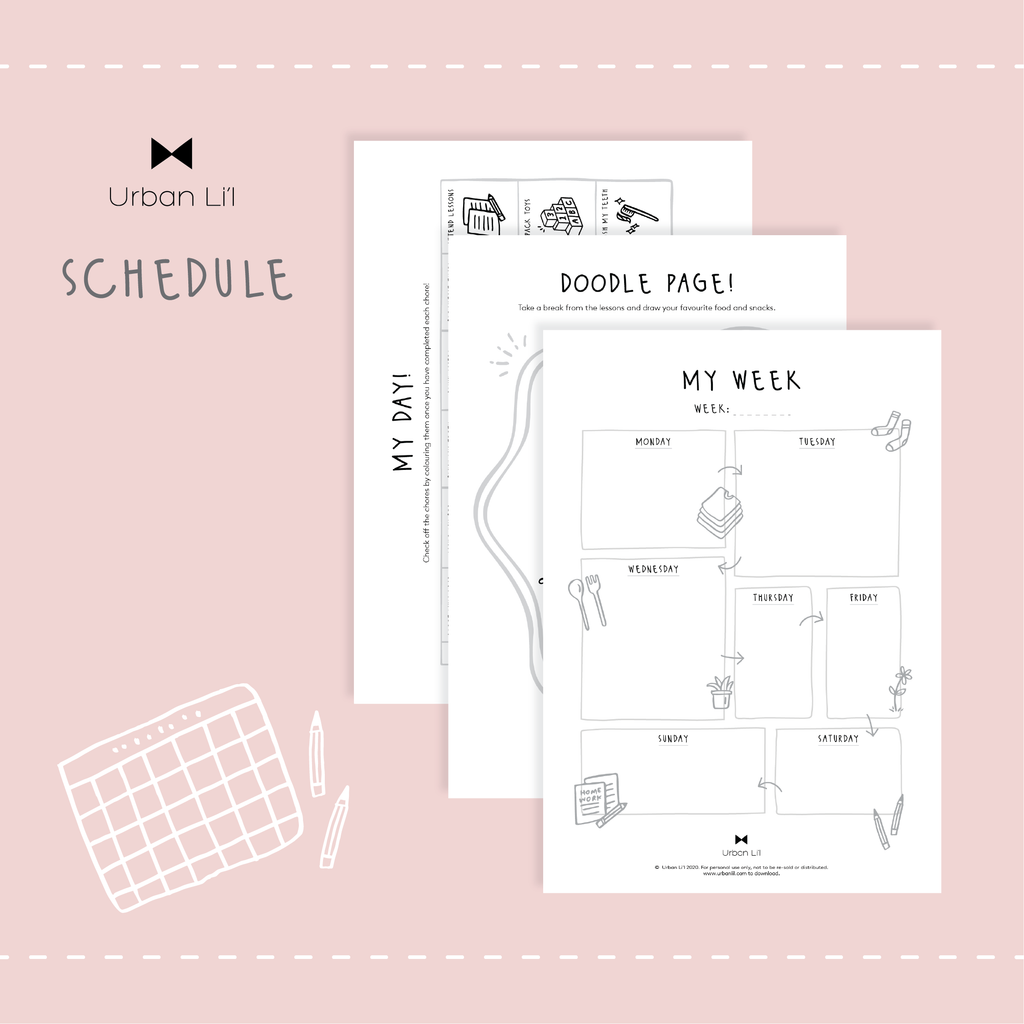Schedules Printable